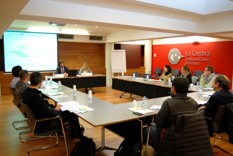 TRAINING COURSE at Chamber of Commerce and Industry of Terrassa